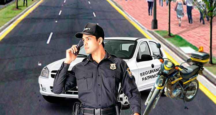 vigilância patrimonial motorizada