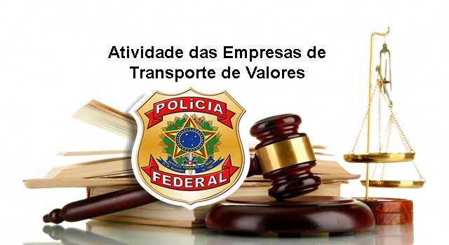Atividade Empresas de Transporte de Valores