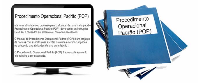 Procedimento Operacional Padrão – POP – Plano Operacional